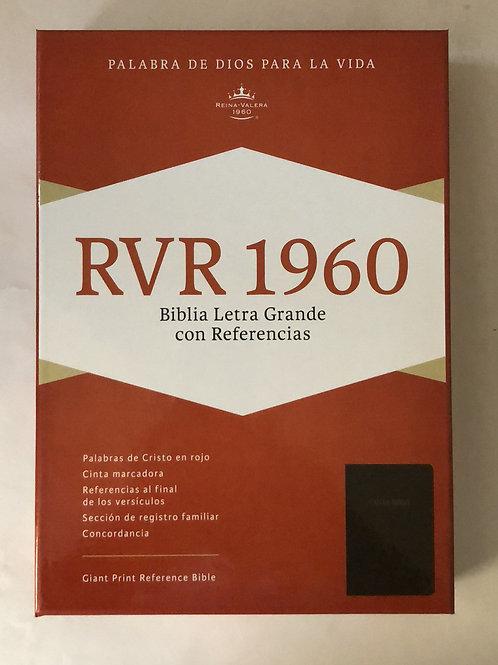 Biblia letra grande Rv60 Piel sin índice