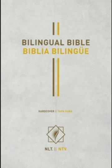 Biblia Bilingüe NLT / NTV, Tapa Dura Blanco