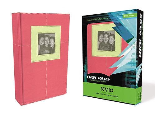 Biblia G3 De Crecimiento Juvenil NVI, Piel Italiana
