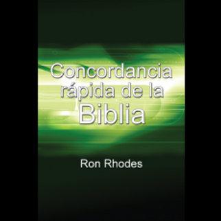 Concordancia rápida de la Biblia
