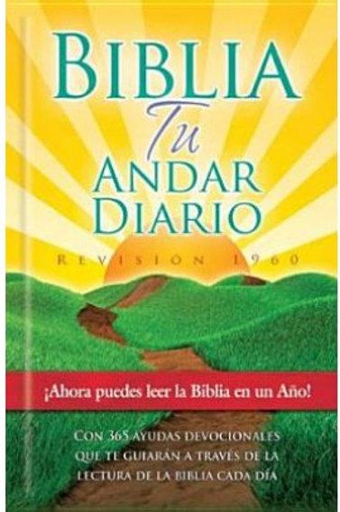 Biblia Tu andar diario pasta dura RVR 1960