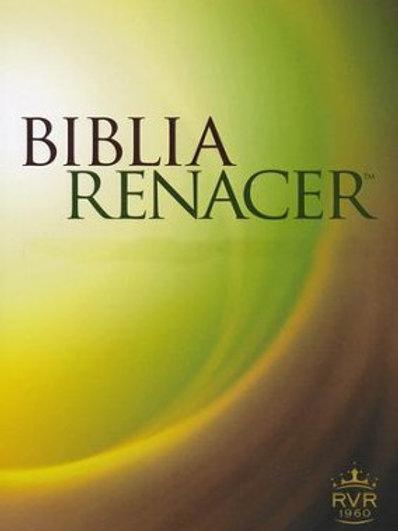 Biblia Renacer RVR 1960, Tapa Dura