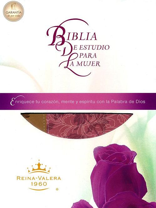 Biblia De Estudio Para La Mujer RVR 1960, Imitación Piel