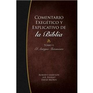 Comentario exegético y explicativo de la Biblia. Tomo I