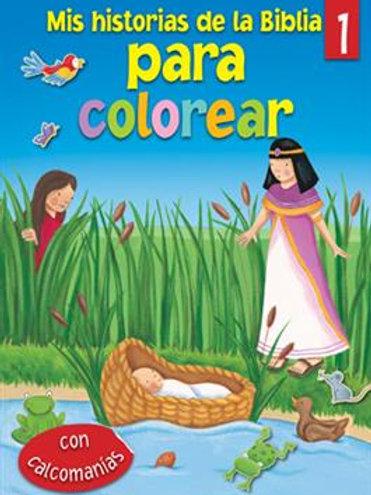 Mis historias de la Biblia para colorear - 1