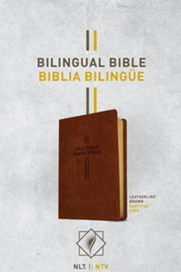 Biblia Bilingüe NLT / NTV, SentiPiel Café