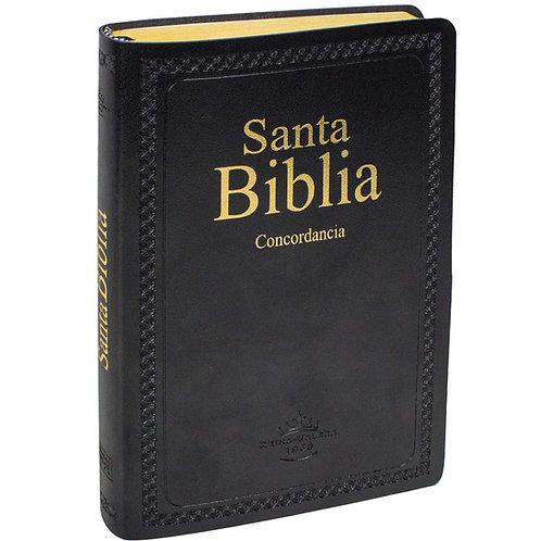 Biblia Ultrafina Con Concordancia RVR 1960, Imitación Piel Negro