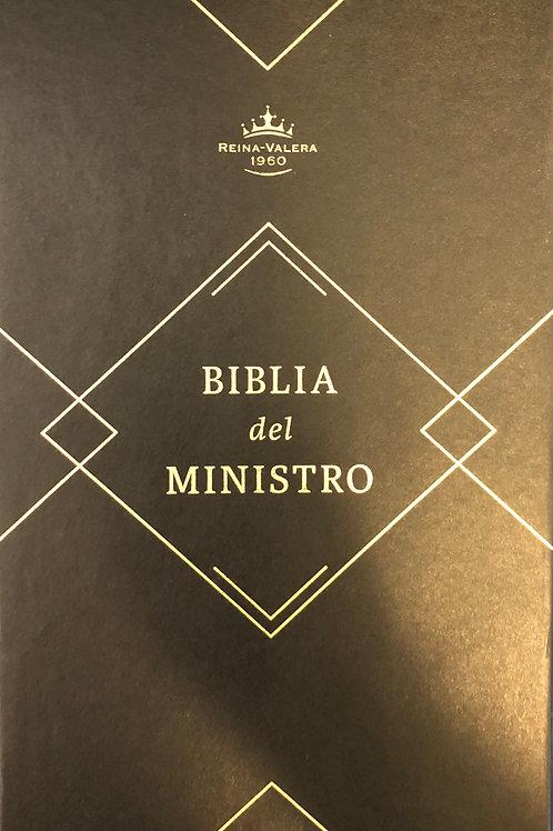 Biblia Del Ministro RVR 1960, Piel Fabricada Marrón