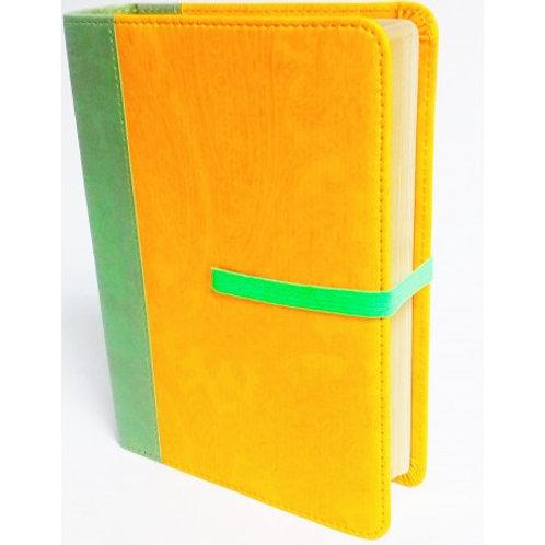 Biblia Compacta RVR 1960, Imitación Piel Amarillo