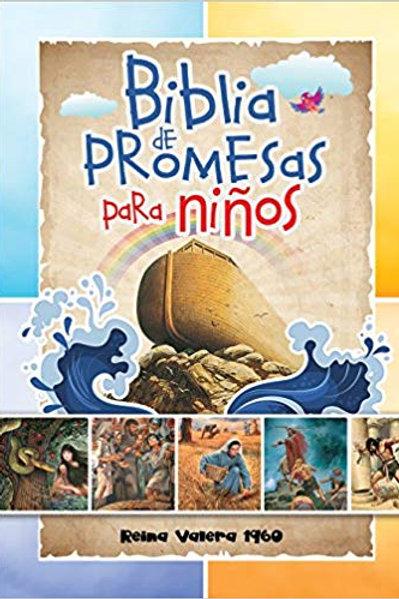 Biblia De Promesas Para Niños RVR 1960, Tapa Dura