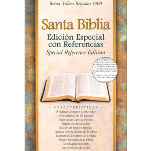 Biblia edición referencias imitación piel vino con índice RVR 1960