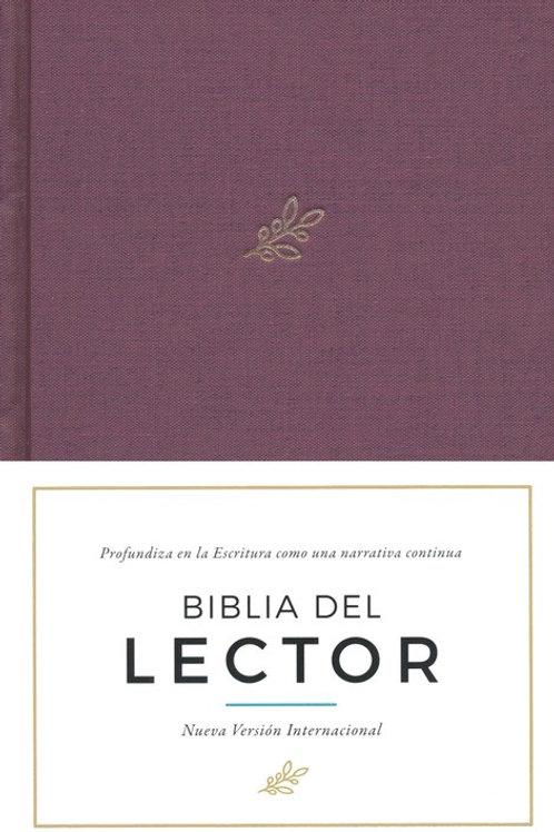 Biblia Del Lector NVI, Tapa Dura Vino