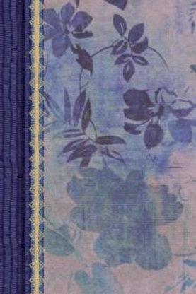 Biblia de estudio para mujeres, RVR 1960, Tela Impresa Azul Floreado