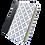 Thumbnail: Biblia de Apuntes NVI, Letra Grande, Símil Piel Blanco/Azul