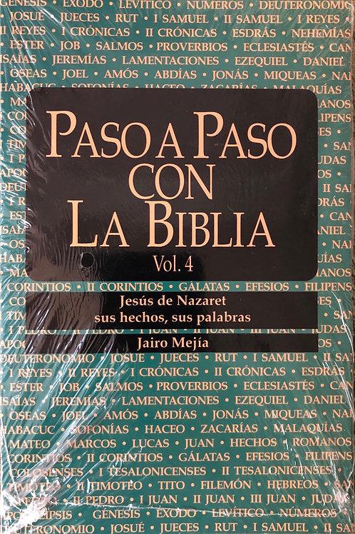 Paso a paso con la Biblia  Vol.4