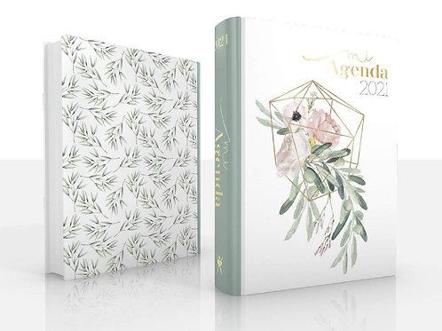Agenda 2021 Eco Mod.4 - Flor Rosa