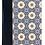 Thumbnail: Biblia De Apuntes Letra Grande RVR 1960, Tela Impresa Mosaico Crema y Azul