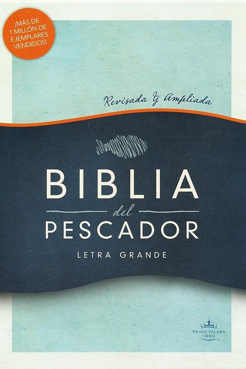 Biblia Del Pescador RVR 1960, Símil Piel Caoba