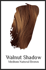 Medium brown organic hair color