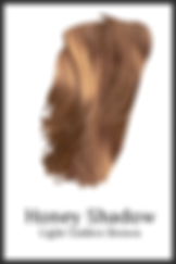 Light golden brown organic hair color