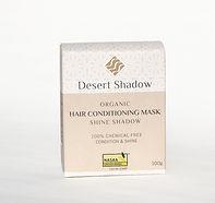 Desert Shadow organic hair treatment