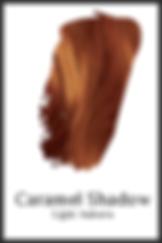 Auburn organic hair color