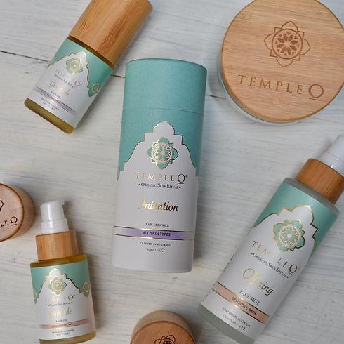 Temple O organic face & body products ma