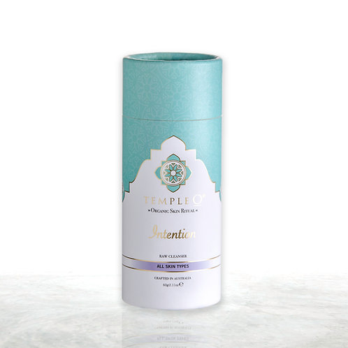 Intention Raw Face Cleanser - Cleanse & Renew for all skin types 2.11oz
