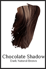 chocolate brown organic hair color