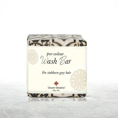 Pre colour organic WASH BAR - for stubborn greys