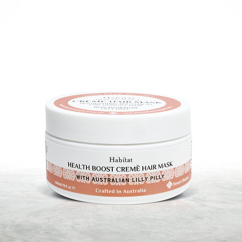 Habitat Health Boost creme hair mask Lily Pily extract 6.76fl.oz - palm oil free