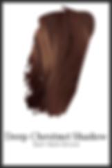Darkest warm brown organic hair color