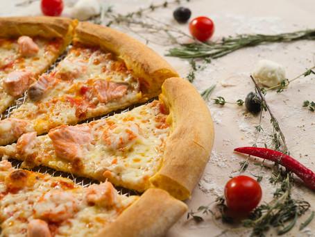 Съемка пиццы для меню