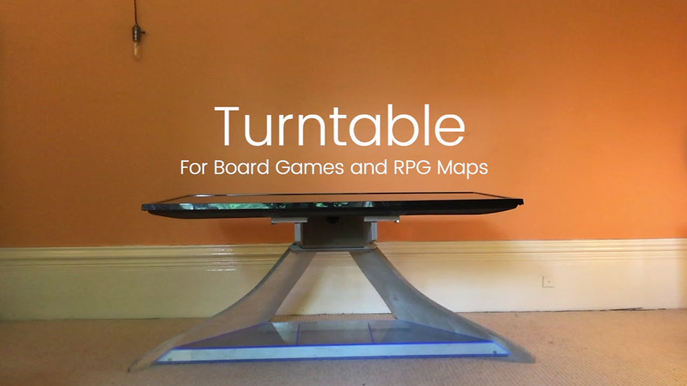 TurnTable: RPG Map Table and TV Stand
