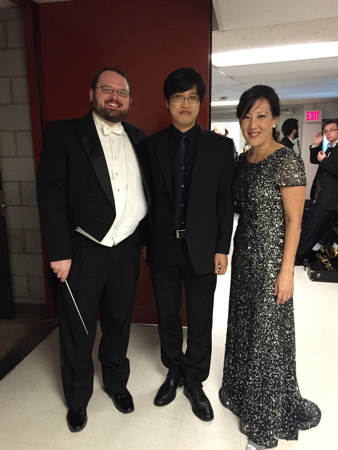 With Dr. Caroline Hong & Phil Day