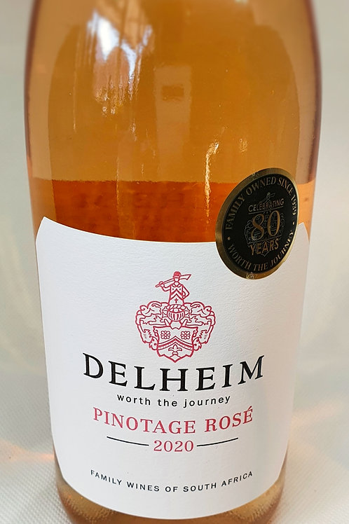 DELHEIM - PINOTAGE ROSÉ 2020