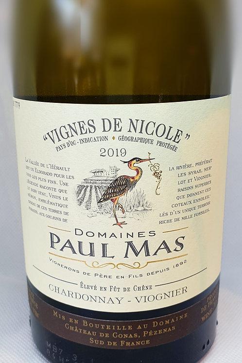 PAUL MAS 2019 (Chardonnay-Viognier)