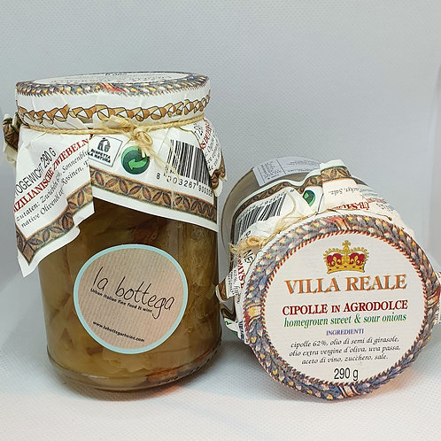 Cipolle in Agrodolce  ( Süß / Sauer - by Villa Reale)