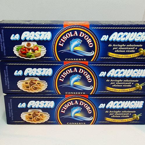 La Pasta Di Acciughe (Sardellenpaste- L'isola D'oro)