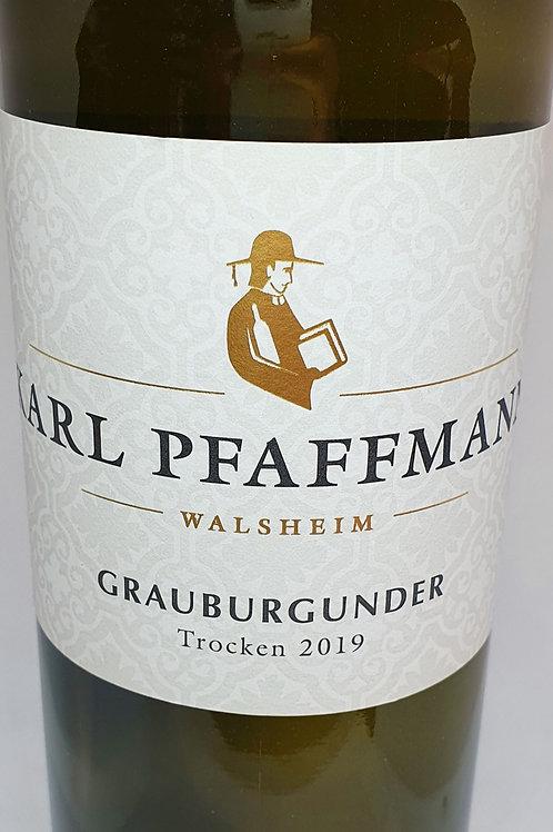 KARL PFAFFMANN- GRAUBURGUNDER 2019
