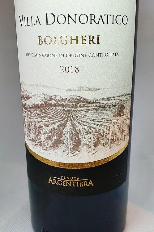 Bolgheri- Villa Donoratico - 2018 (Tenuta  Argentiera)