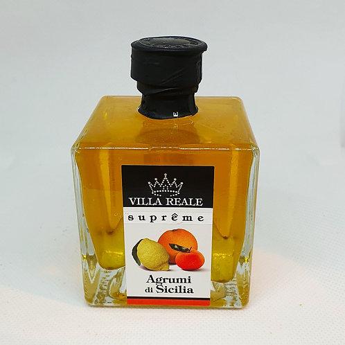 Condimento a Base di Olio extra vergine d'Oliva agli Agrumi di Sicilia (V.R.S)