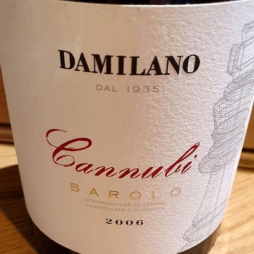 DAMILANO - CANNUBI - BAROLO 2006