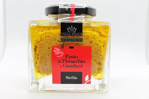 Pesto di Pistacchio e Gamberi ( Villa Reale Supreme )