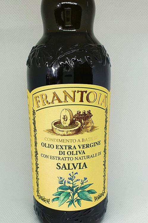 OLIO EXTRA VERGINE DI OLIVIA CON ESTRATTO NATURALE DI SALVIA