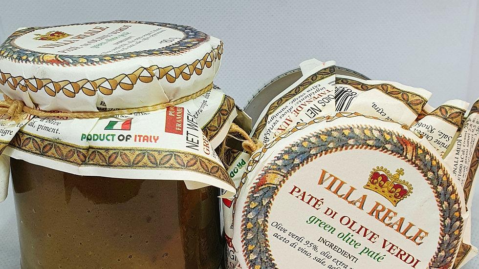 Paté Di Olive Verdi ( Grüne Oliven )