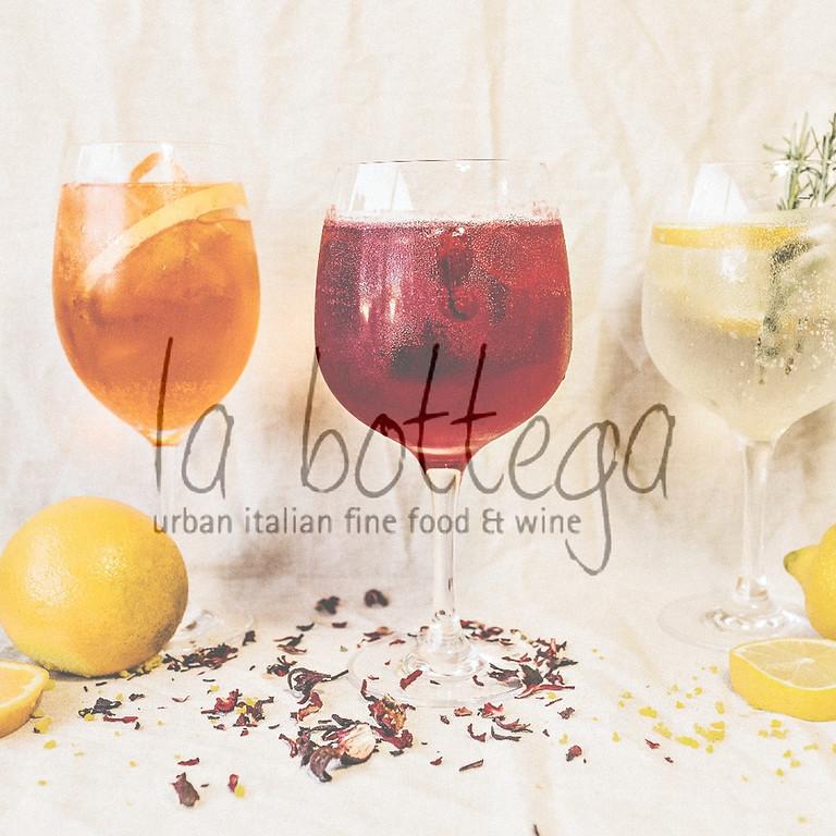 APERICENA - Jeden Donnerstag - Fingerfood - Wine & afterworkbeats