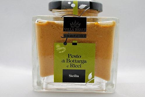 Pesto Bottarga e Ricci ( Villa Reale Supreme )