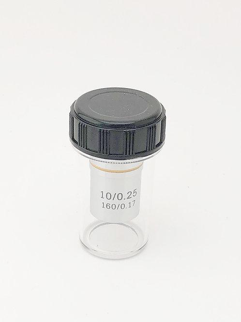 10x Achromatic Objective