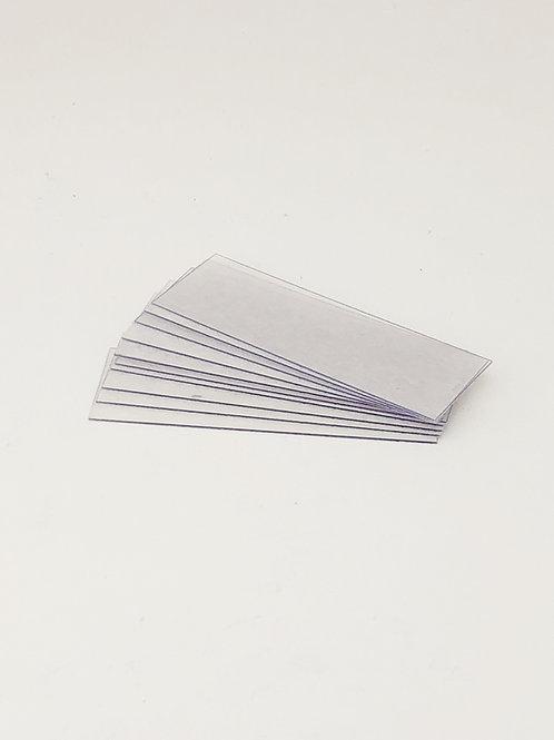 Blank Plastic Slides (10 Pack)